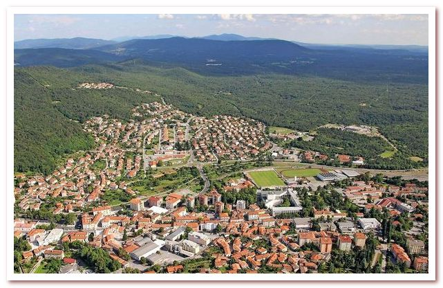 Курорты Словении. Сежана