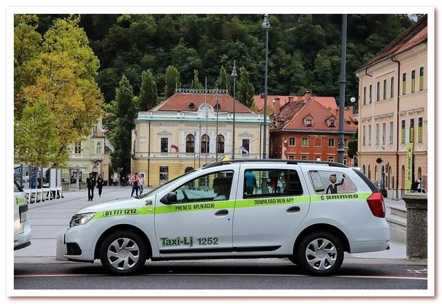 Курорты Словении. Такси в Любляне