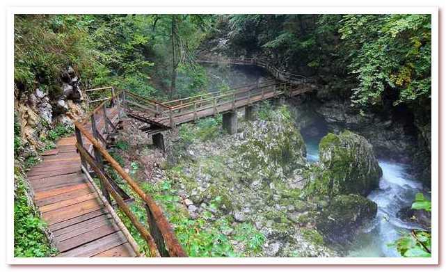 Курорты Словении. Ущелье Винтгар
