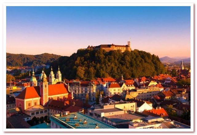 Курорты словении. Замковый холм Любляна