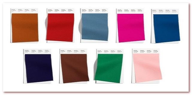 Модные цвета 2021-2022