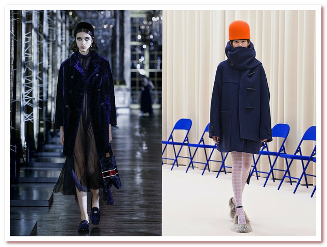 Модные цвета 2021-2022. Dior, Нина Риччи
