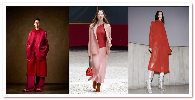 Модные цвета 2021-2022. Ума Ван, Лонгшамп, Виктория Бекхэм