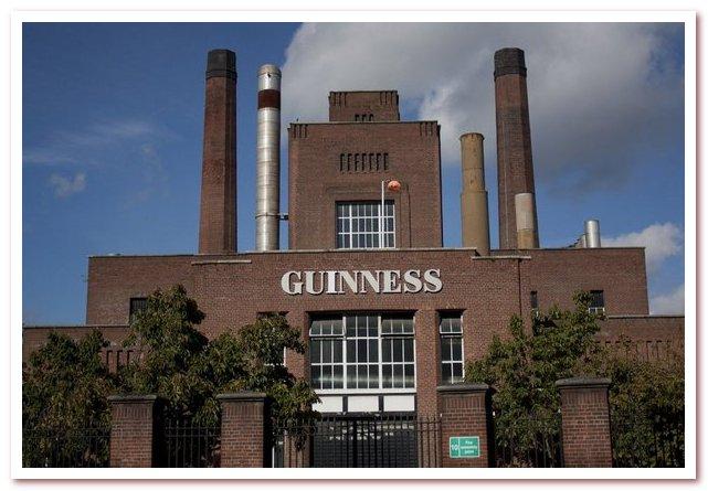 Пиво Гиннесс. Пивоварня St. James's Gate