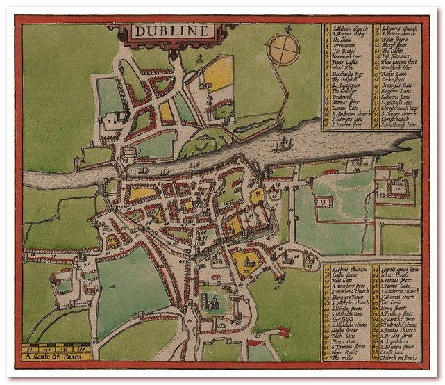 Пиво Гиннесс. St. James's Gate на карте Дублина