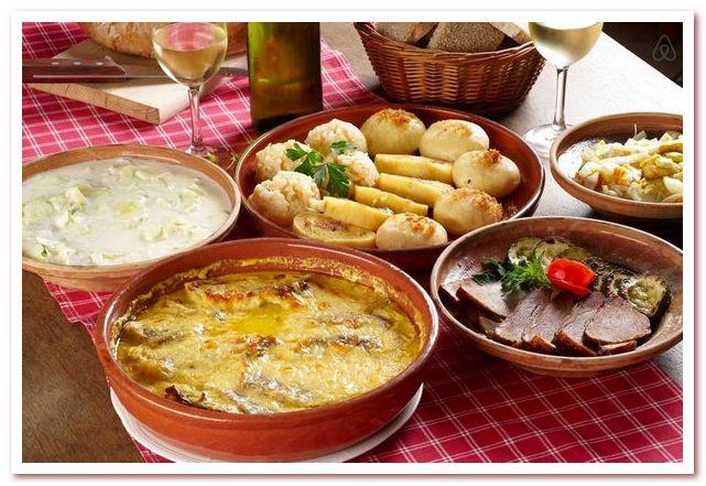 Словенская кухня. Автохтонных словенских блюд не очень много