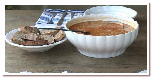 Словенская кухня. Буйта репа, популярное национальное блюдо Прекмурья
