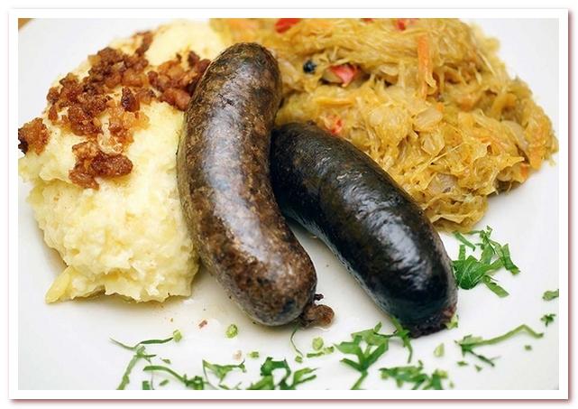 Традиционная словенская кухня использовала только домашние продукты