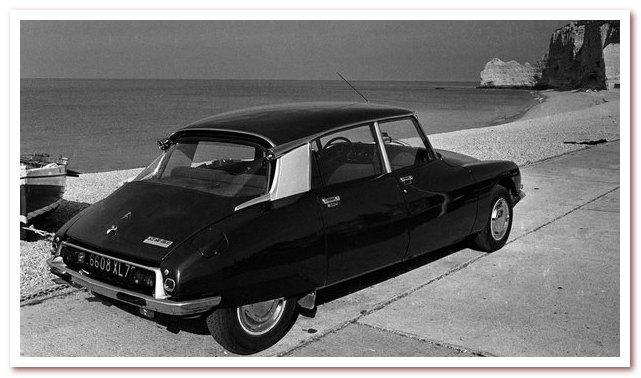 Citroen DS. История французской Богини