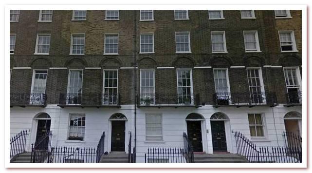 Лондон Гарри Поттера. Claremont Square 25