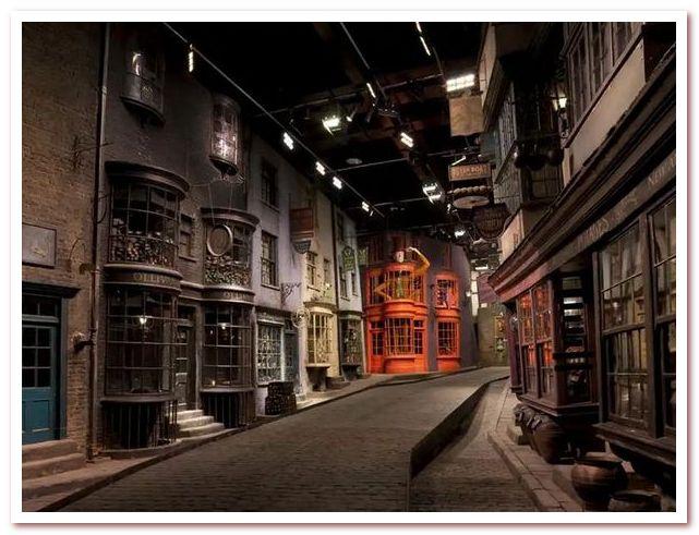 Лондон Гарри Поттера. Декорации студии Warner Bros