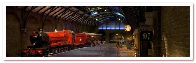 Лондон Гарри Поттера. Хогвардс-экспресс в студии Warner Bros