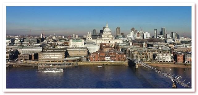 Лондон Гарри Поттера. Millenium Bridge