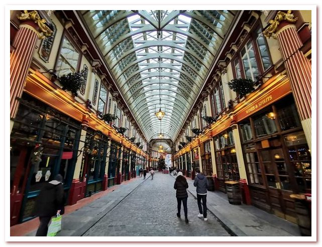 Лондон Гарри Поттера. Рынок Лиденхолл