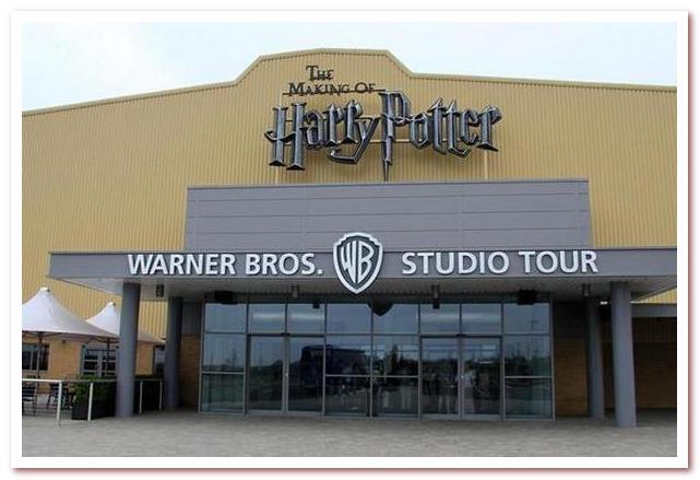 Лондон Гарри Поттера. Студия Warner Bros