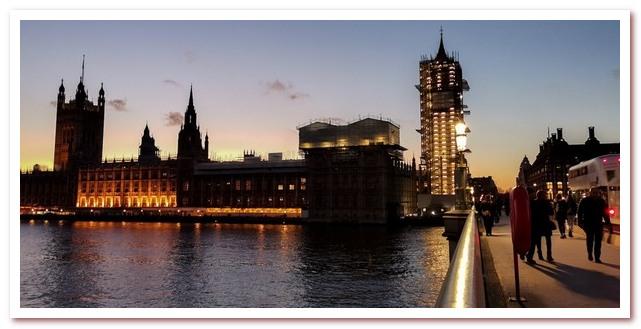 Лондон Гарри Поттера. Вид на Вестминстерский дворец с южного берега