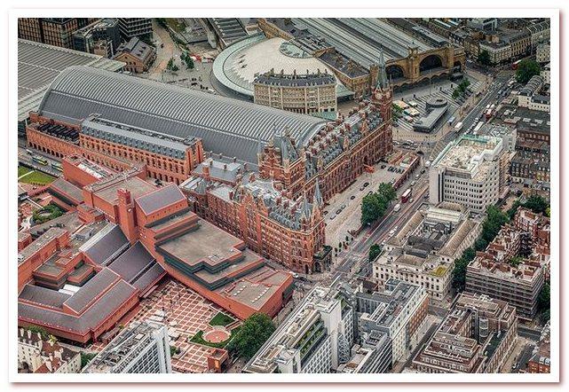 Лондон Гарри Поттера. Вокзалы Кингс-Кросс и Сент-Панкрас расположены рядом