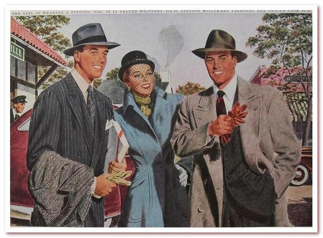 Мода 20 века 1947–1960