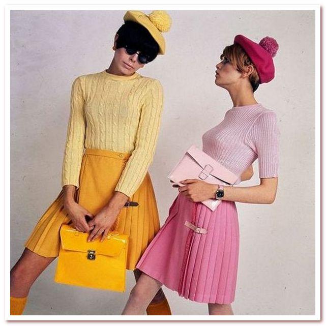 Мода 20 века 1960–1970