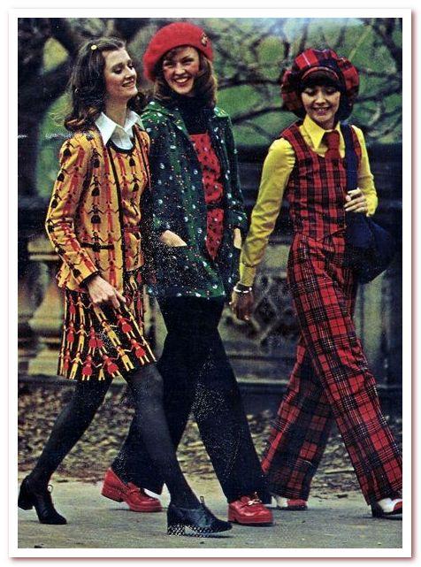Мода 20 века 1970–1990