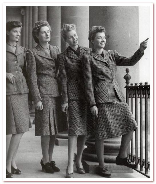 Мода 20 века. 1939–1947