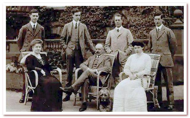 Мода 20 века. Мужчины эпохи Первой мировой войны