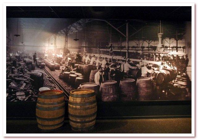 Пиво Гиннесс. Исторические фотографии в музее у