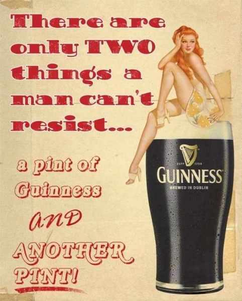 Реклама пива Guinness