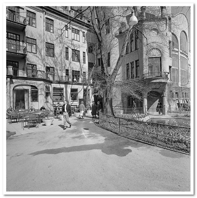 Где жил Карлсон. Drottninggatan 88. 1963 г