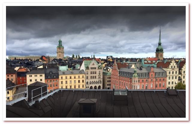 Где жил Карлсон. Вид с крыши на Старый город