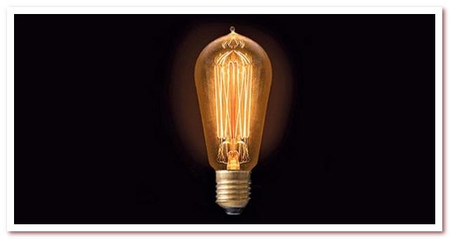 Кто изобрел электрическую лампочку. Лампа Эдисона