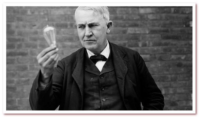 Кто изобрел электрическую лампочку. Томас Алва Эдисон