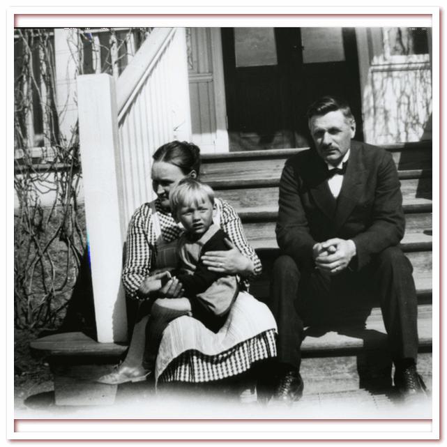 Лассе, Ханна и Самуэль Август в Виммербю