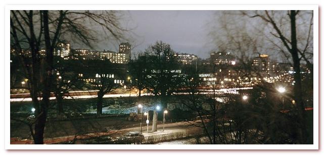Стокгольм в сумерках