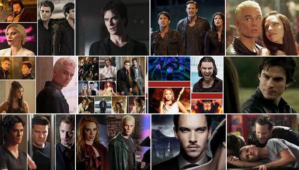 Топ 10 телевизионных вампиров