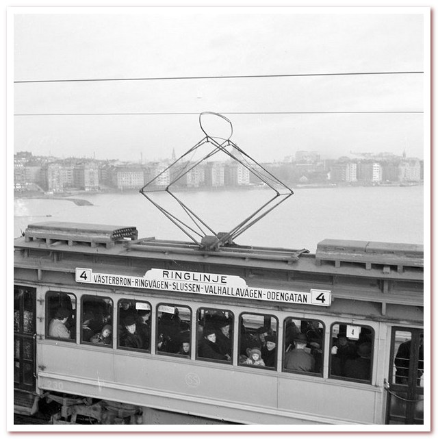 Трамвай 4 на Вестербрун