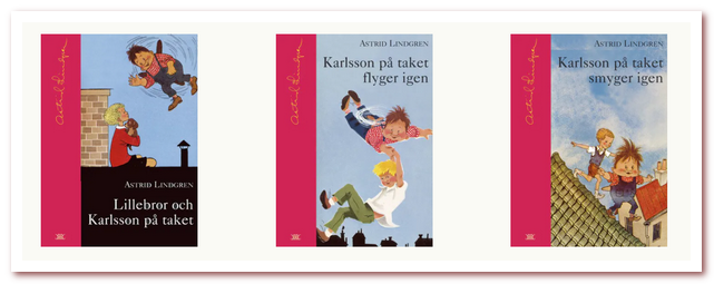 Трилогия книг о Карлсоне