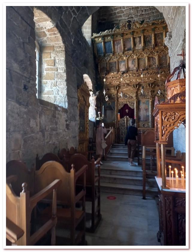 Церковь Святого Лазаря. Интерьер