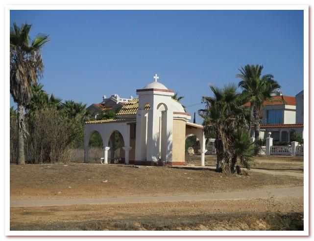 Курорты Кипра. Часовня на берегу в Айа-Напе