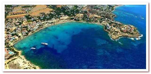 Курорты Кипра. Коралловый залив