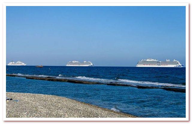 Курорты Кипра. Круизные лайнеры и берегов Лимасола