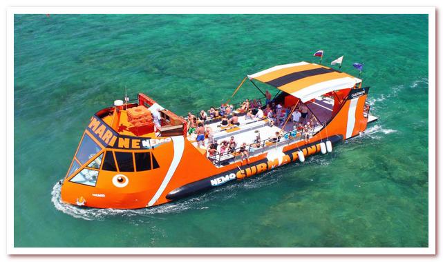 Курорты Кипра. Круизы на подводных лодках