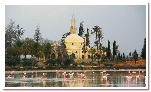 Курорты Кипра. Мечеть Хала Султан Текке