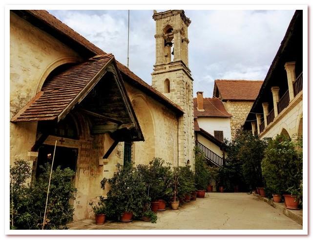 Курорты Кипра. Монастырь Хрисороятисса