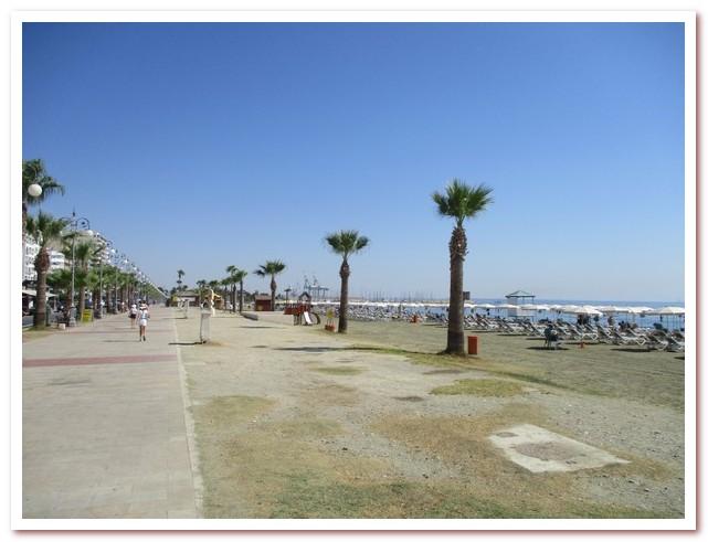 Курорты Кипра. Набережная Ларнаки