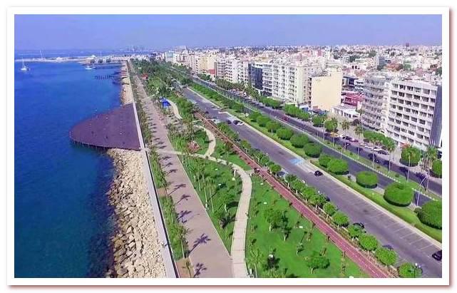 Курорты Кипра. Набережная Лимасола