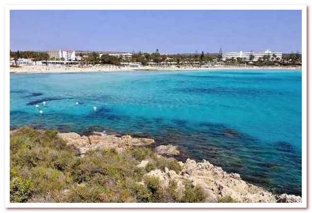 Курорты Кипра. Нисси-Бич
