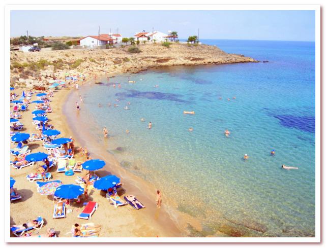 Курорты Кипра. Пляж Аспрокреммос