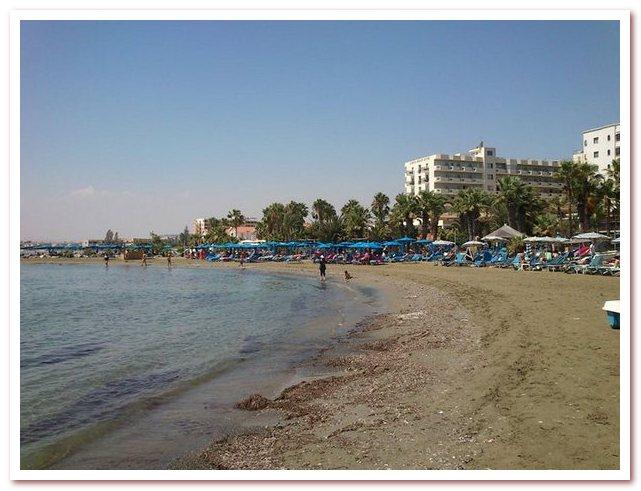 Курорты Кипра. Пляж Декелия