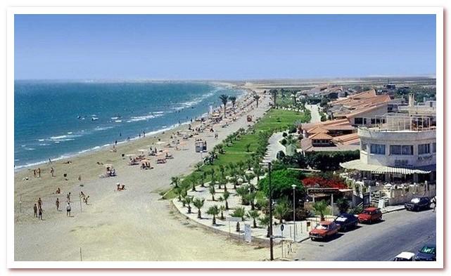 Курорты Кипра. Пляж Маккензи